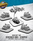 Privateer Press - PIP Monsterpocalypse - Green Fury - Scavenger Vans and Scrapper - Unit