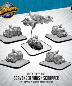 Privateer Press - PIP Monsterpocalypse - Green Fury - Scavenger Vans and Scrapper - Unit