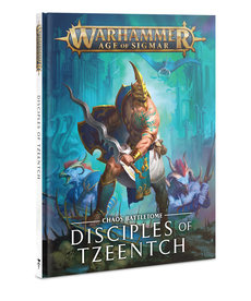 Games Workshop - GAW Warhammer Age of Sigmar - Chaos Battletome: Disciples of Tzeentch