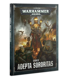 Games Workshop - GAW Warhammer 40K - Codex: Adepta Sororitas