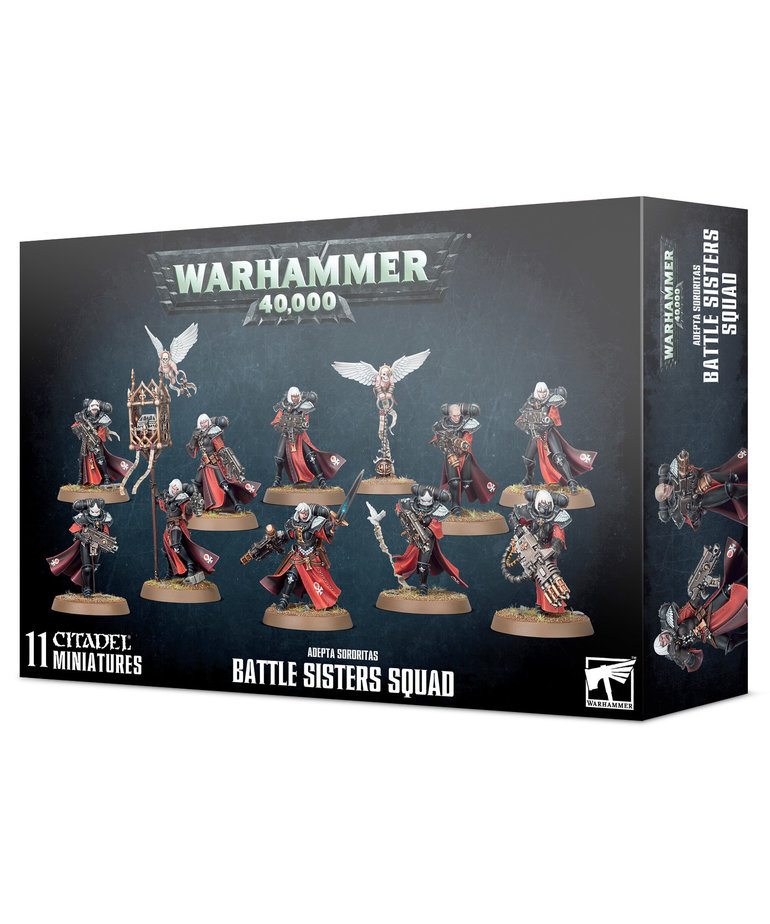 Games Workshop - GAW Warhammer 40K - Adepta Sororitas - Battle Sisters Squad
