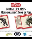 Gale Force Nine - GF9 D&D 5E - Monster Cards - Mordenkainen's Tome of Foes