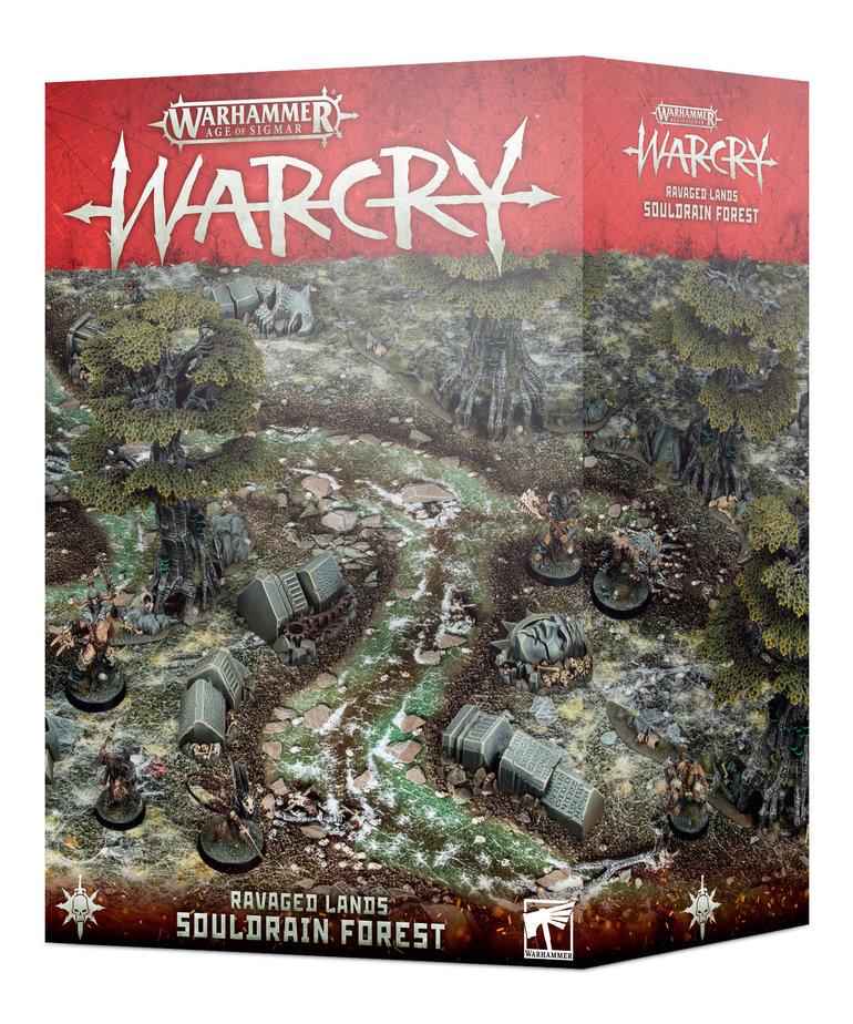 Games Workshop - GAW Warhamer Age of Sigmar: Warcry - Ravaged Lands: Souldrain Forest
