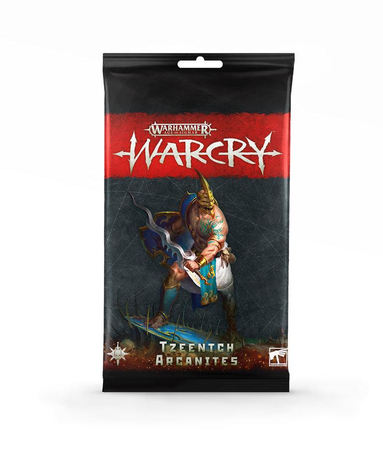 Games Workshop - GAW Warhammer Age of Sigmar: Warcry - Card Pack: Tzeentch Arcanites