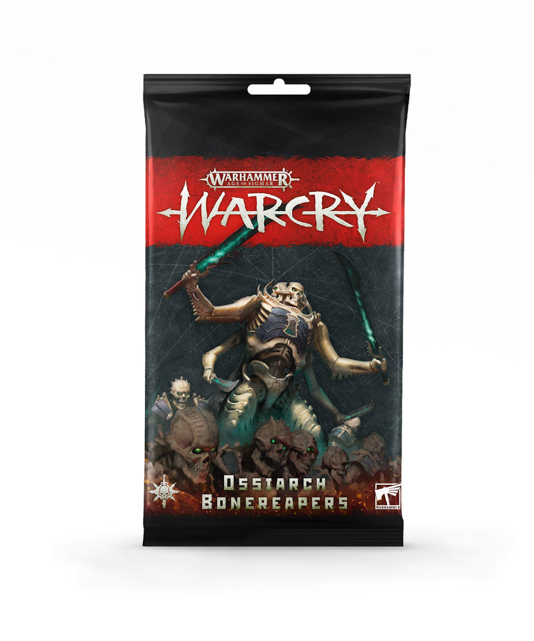 Games Workshop - GAW Warhammer Age of Sigmar: Warcry - Card Pack: Ossiarch Bonereapers