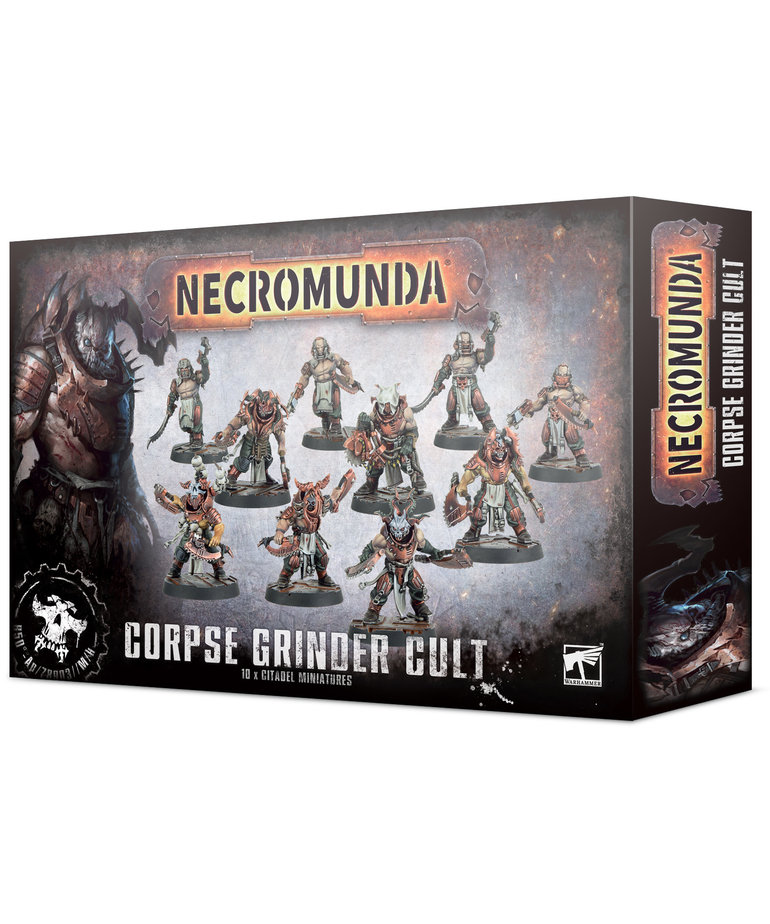Games Workshop - GAW Necromunda - Corpse Grinder Cult