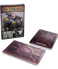 Games Workshop - GAW Necromunda - Enforcer Tactics Card Pack