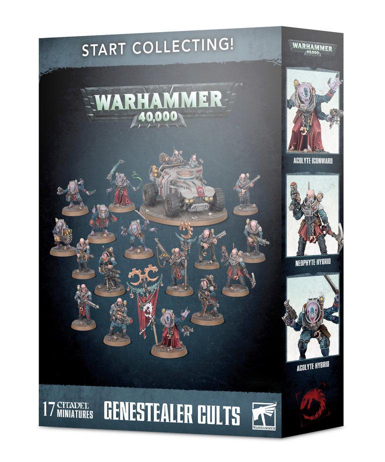 Games Workshop - GAW Warhammer 40K - Start Collecting!: Genestealer Cults