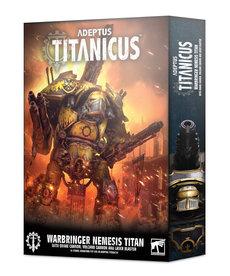 Games Workshop - GAW Adeptus Titanicus - Titans - Warbringer Nemesis Titan with Quake Cannon, Volcano Cannon, and Laser Blaster