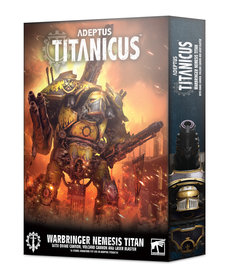 Games Workshop - GAW Warbringer Nemesis Titan with Quake Cannon, Volcano Cannon, and Laser Blaster