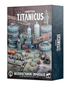 Games Workshop - GAW Adeptus Titanicus - Scenery/Terrain - Manufactorum Imperialis