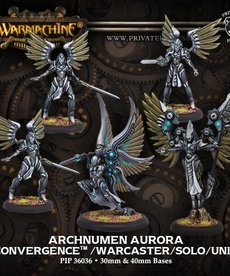Privateer Press - PIP Warmachine - Convergence of Cyriss- Archnumen Aurora - Warcaster / Solo Unit (Aurora 2)
