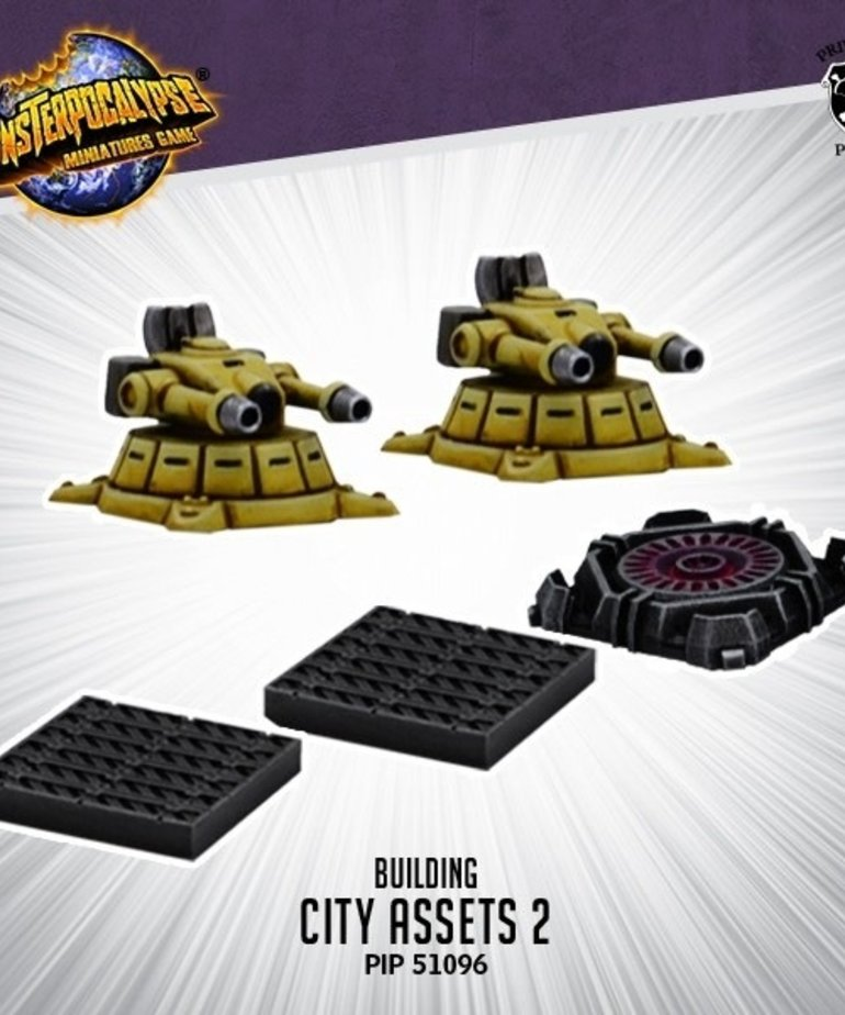 Privateer Press - PIP Monsterpocalypse - Buildings - City Assets 2