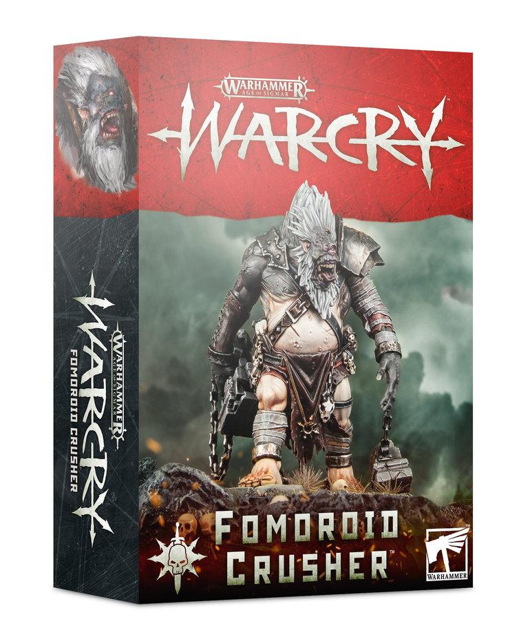 Games Workshop - GAW Warhammer Age of Sigmar: Warcry - Fomoroid Crusher - Monster