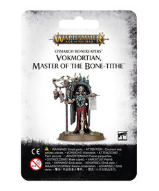 Games Workshop - GAW Warhammer Age of Sigmar - Ossiarch Bonereapers - Vokmortian, Master of the Bone-Tithe