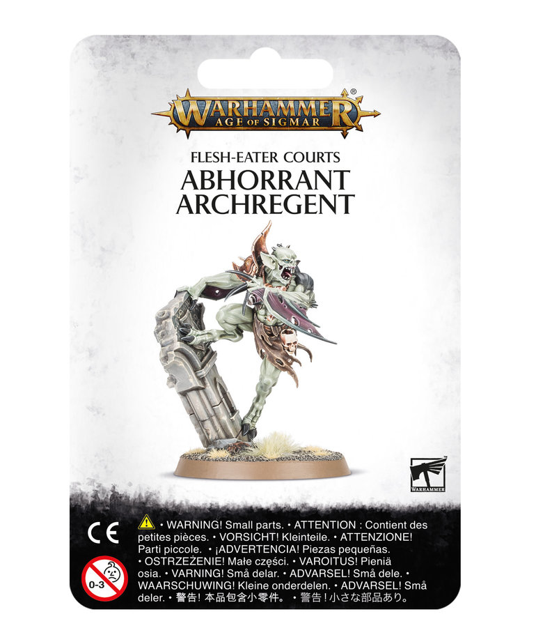 Games Workshop - GAW Warhammer Age of Sigmar - Flesh-Eater Courts - Abhorrant Archregent