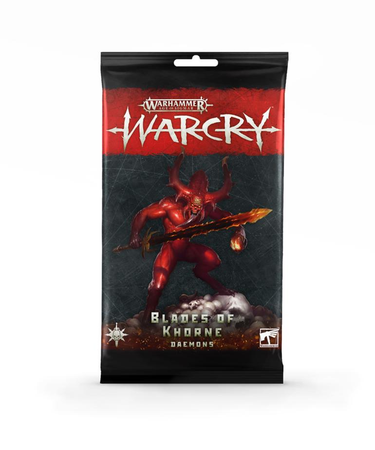 Games Workshop - GAW Warhammer Age of Sigmar: Warcry - Card Pack: Blades of Khorne - Daemons