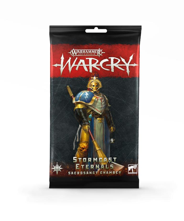 Games Workshop - GAW Warhammer Age of Sigmar: Warcry - Card Pack: Stormcast Eternals - Sacrosanct Chamber