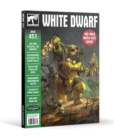 Games Workshop - GAW Warhammer - White Dwarf Magazine - Issue 451: February 2020