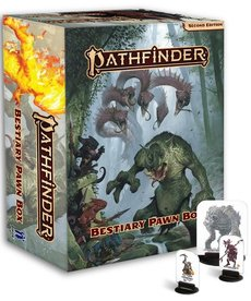 Paizo, Inc. - PZO Pathfinder 2E - Accessories - Bestiary Pawn Box