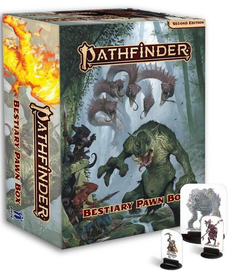 Paizo, Inc. - PZO Pathfinder 2E - Accessories - Bestiary Pawn Box