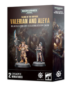 Games Workshop - GAW Warhammer 40K - Sisters of Silence - Talons of the Emperor: Valerian and Aleya - Black Library Celebration 2020