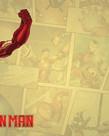 Fantasy Flight Games - FFG Marvel Champions: The Card Game - Iron Man - Game Mat