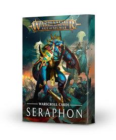 Games Workshop - GAW Warhammer Age of Sigmar - Warscroll Cards: Seraphon