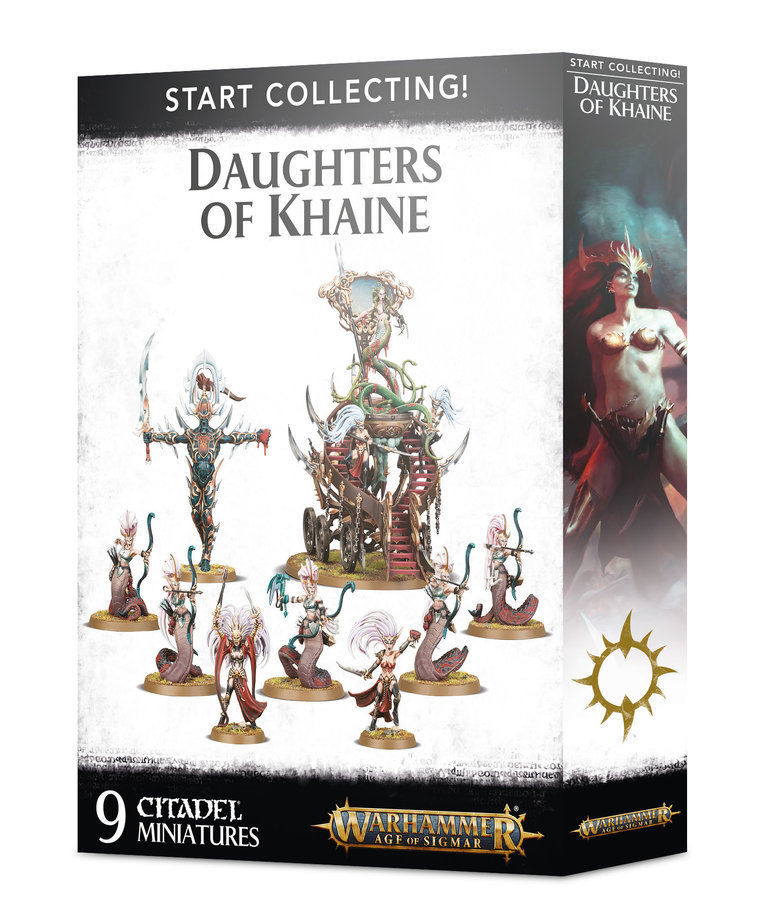 Games Workshop - GAW Warhammer Age of Sigmar - Start Collecting!: Daughters of Khaine