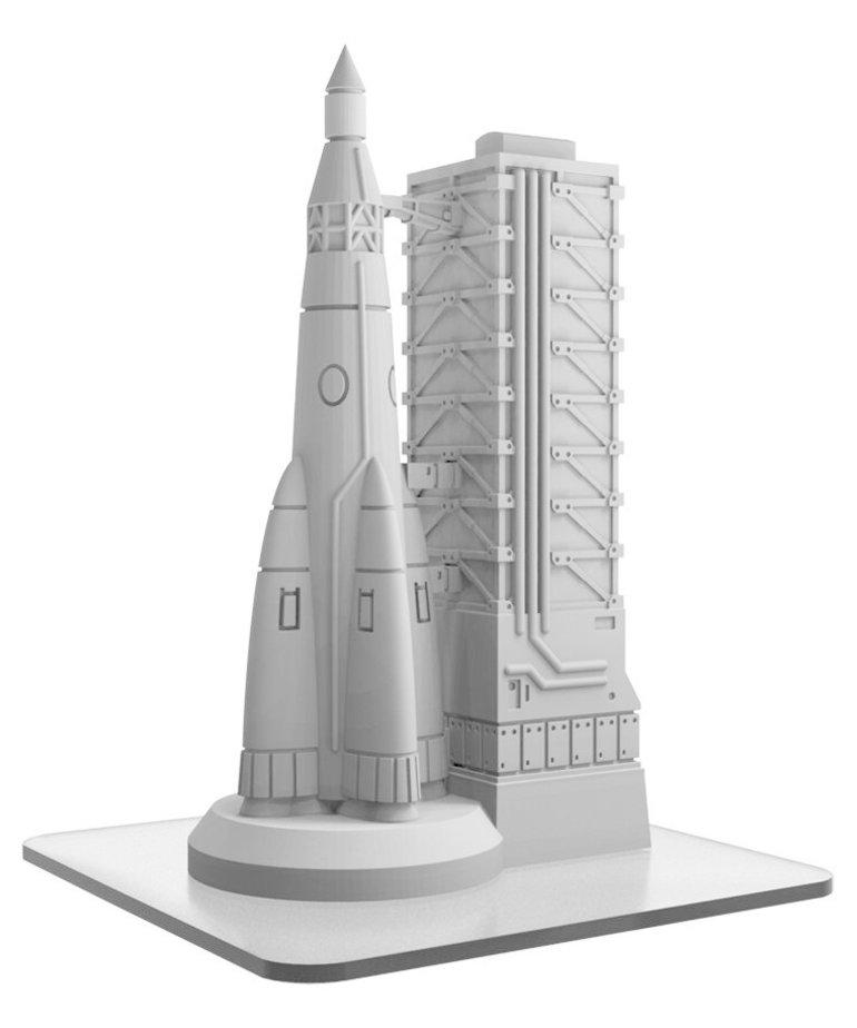 Privateer Press - PIP Monsterpocalypse - Buildings - Rocket Gantry