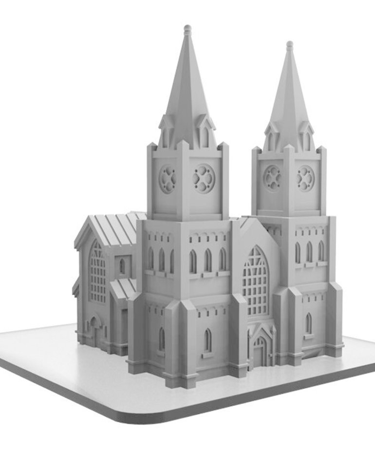 Privateer Press - PIP Monsterpocalypse - Buildings - Cathedral