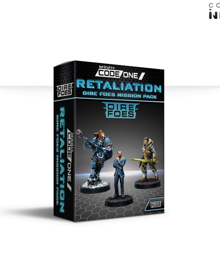 Corvus Belli - CVB Infinity: CodeOne - Dire Foes Mission Pack Alpha: Retaliation BLACK FRIDAY NOW