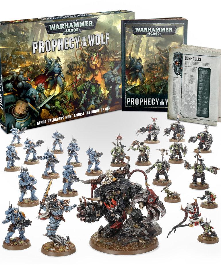 Games Workshop - GAW Warhammer 40K - Prophecy of the Wolf