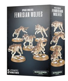 Games Workshop - GAW Warhammer 40K - Space Wolves - Fenrisian Wolves