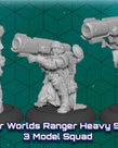 Privateer Press - PIP Warcaster: Neo-Mechanika - Marcher Worlds - Ranger Heavy Support - 3 Model Squad (KICKSTARTER - NO REBATE)