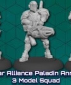 Privateer Press - PIP Warcaster: Neo-Mechanika - Iron Star Alliance - Paladin Annihilator - 3 Model Squad (KICKSTARTER - NO REBATE)