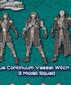 Privateer Press - PIP Warcaster: Neo-Mechanika - Aeternus Continuum - Vassal Witch Hunters - 3 Model Squad (KICKSTARTER - NO REBATE)