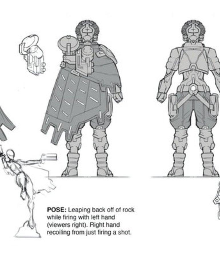 Privateer Press - PIP Warcaster: Neo-Mechanika - Marcher Worlds - Artemis Fang - Hero (KICKSTARTER - NO REBATE)