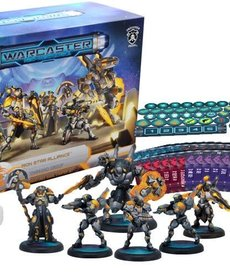 Privateer Press - PIP Warcaster: Neo-Mechanika - Marcher Worlds - Command Group - Starter Set (KICKSTARTER - NO REBATE)