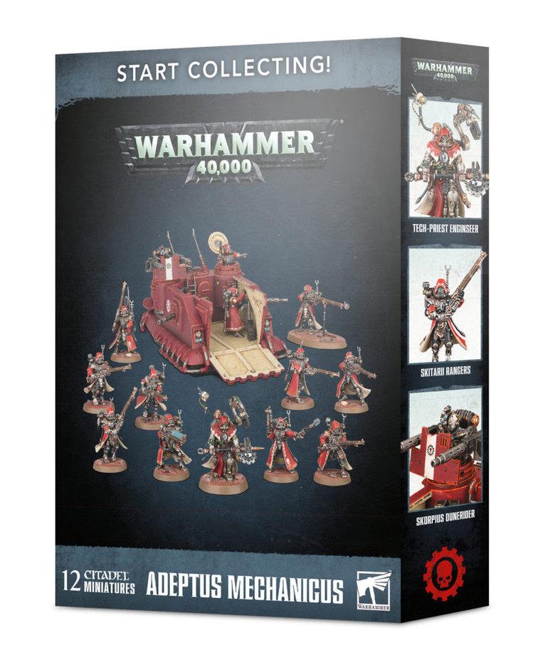 Games Workshop - GAW Warhammer 40K - Start Collecting!: Adeptus Mechanicus