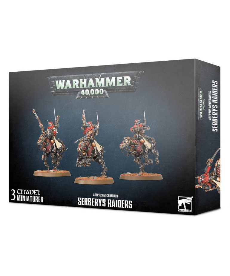 Games Workshop - GAW Warhammer 40K - Adeptus Mechanicus - Serberys Raiders