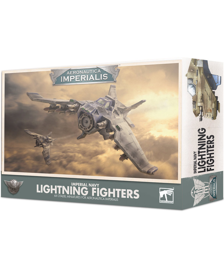 Games Workshop - GAW Aeronautica Imperials - Imperial Navy - Lightning Fighters