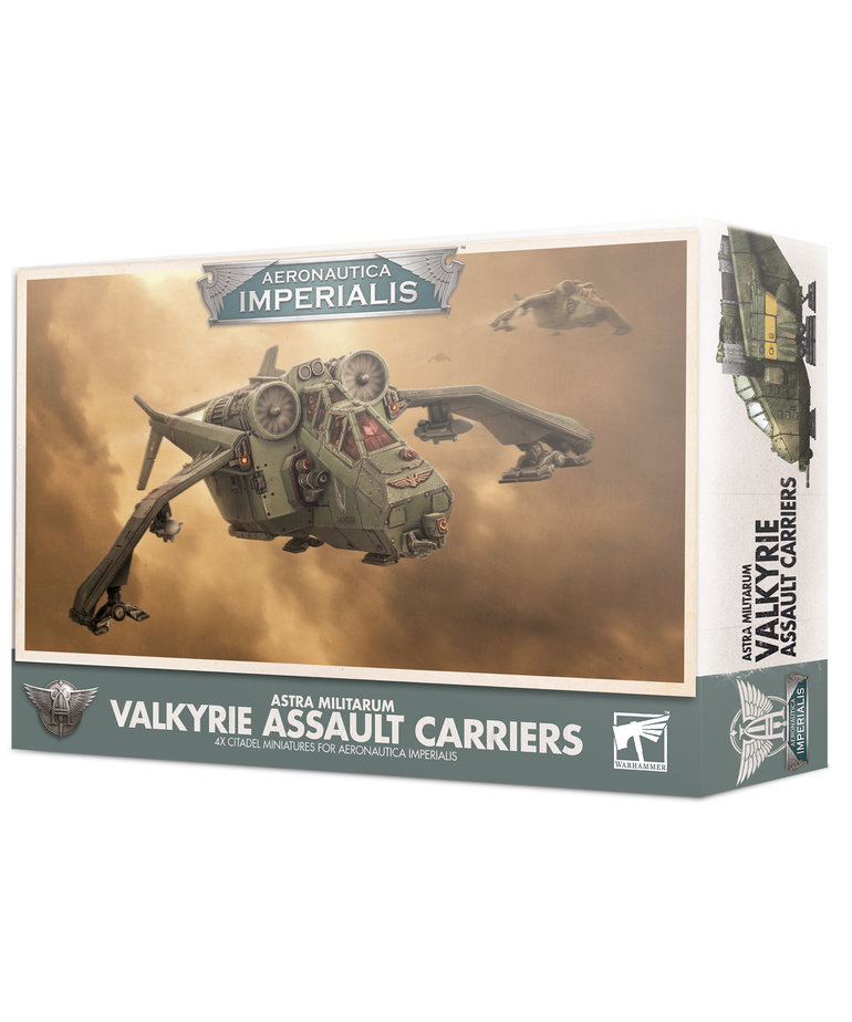 Games Workshop - GAW Aeronautica Imperialis - Imperial Navy - Valkyrie Assault Carriers