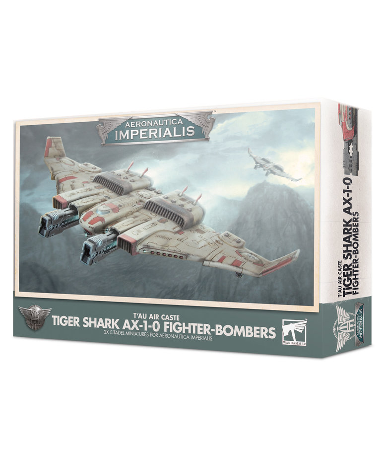 Games Workshop - GAW Aeronautica Imperials - T'au Air Caste - Tiger Shark AX-1-0 Fighter-Bombers