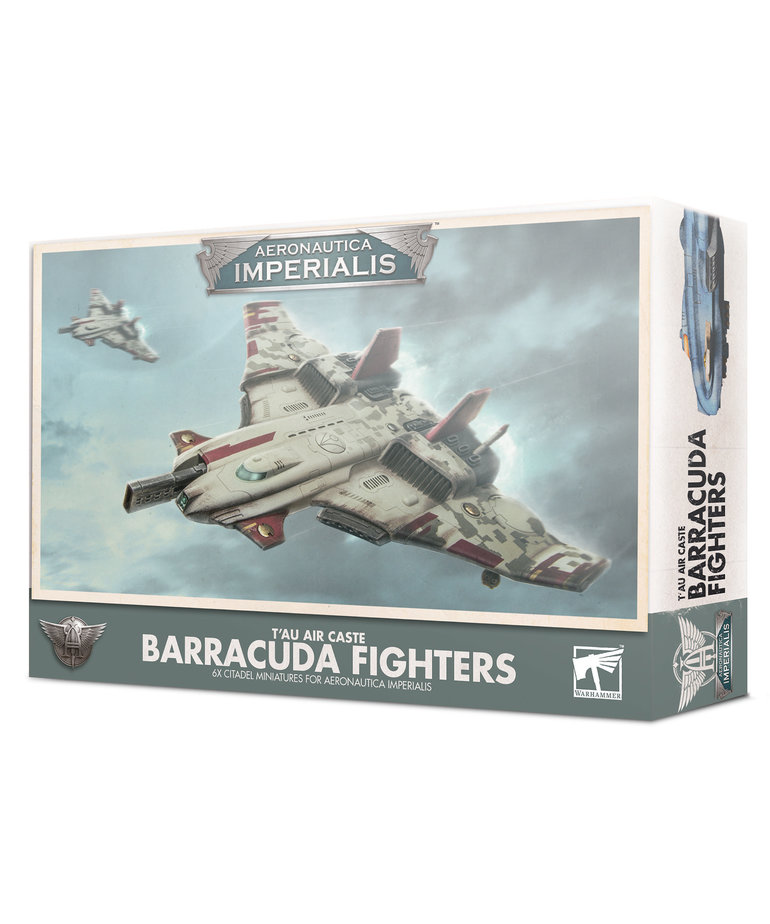 Games Workshop - GAW Aeronautica Imperialis - T'au Air Caste - Barracuda Fighters