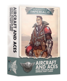 Games Workshop - GAW Aircraft & Aces: Astra Militarum & Imperial Navy Cards