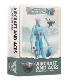 Games Workshop - GAW Aeronautica Imperialis - Aircraft & Aces: T'au Air Caste Cards