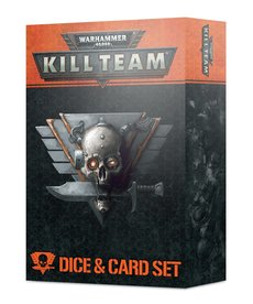 Games Workshop - GAW Kill Team - Dice and Card Set