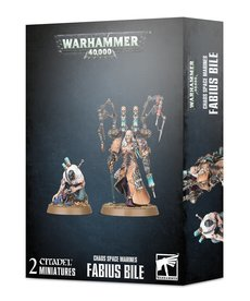 Games Workshop - GAW Warhammer 40K - Chaos Space Marines - Fabius Bile