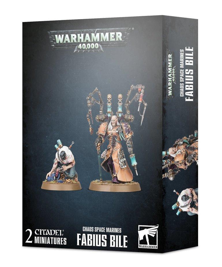 Games Workshop - GAW Warhammer 40K - Chaos Space Marines - Fabius Bile